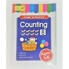 Ages 3-5 Counting Workbook